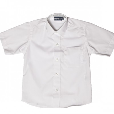 Clova Boys Banner short sleeve shirt