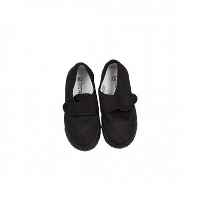 School uniform black plimsolls