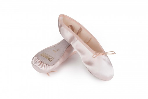 Satin Ballet Shoes Pink