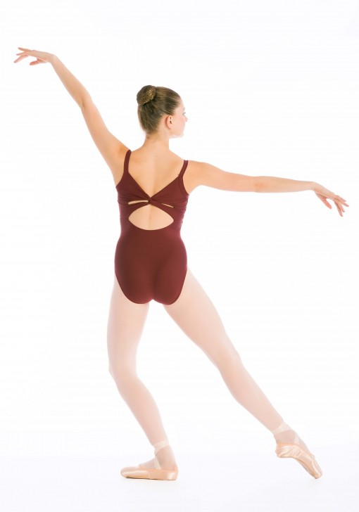 Alpa Leotard - adult leotard with crossover detail on back and bust lining