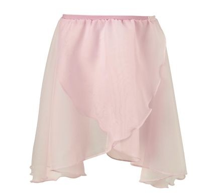 Georgette Crossover Dance/Ballet Skirt