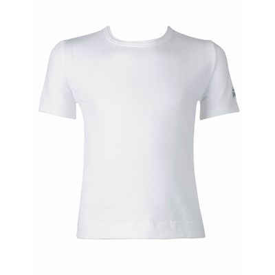 Poly cotton lycra short sleeve dance t-shirt