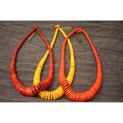 Necklaces from sustainable sources