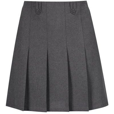 Junior Girls Flower button skirt