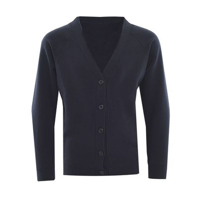 Sweatshirt Cardigan Navy