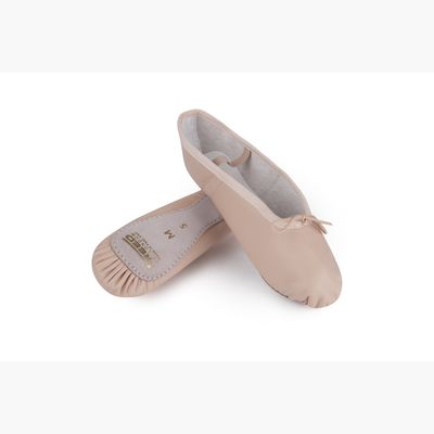 AN5A3126 Leather Ballet Shoes Pink & Black_1